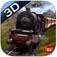 Mountain Train driving 3D – Heavy Railroad Steam Engine