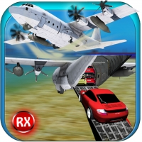 Car Transporter Cargo Plane - 3D Vehicle Transport Airplane