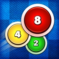 Puxers - simple logical game: combines elementary math and pool basics