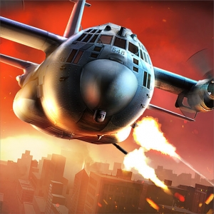 لعبة الحرب Zombie Gunship Survival