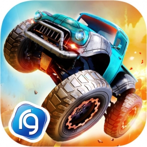 لعبة السباق Monster Trucks Racing