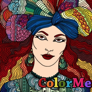 تلوين الصور ColorMe - Relaxing Colouring Book for adults