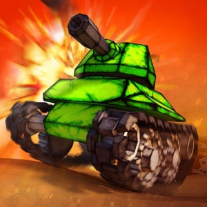 تحطيم الدبابات Crash of Tanks: Pocket Mayhem