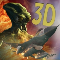 لعبة الغزو الأجنبي Ace Fighter in space  A 3D combat to defend earth against the S3 aliens